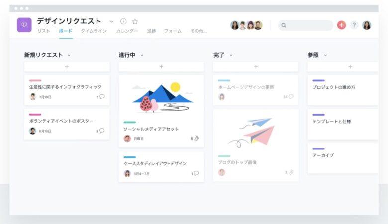 ガント チャート asana