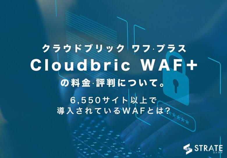 Cloudbric WAF+(クラウドブリック ワフ·プラス)の料金·評判について。6,550サイト以上で導入されているWAFとは?
